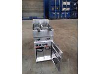 Valentine V2200 Chips Fryer Twin Tank Twin Basket Deep Fat Fryer