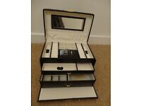 Real leather Dulwich designs jewellery box bought from John Lewis and is in excellent condition
