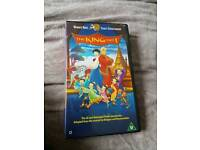 Vhs the king and i