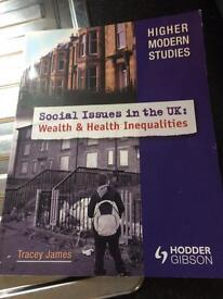 Higher modern studies book