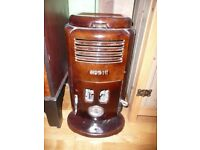 Woodburner. Deco vintage French enamel multi fuel stove