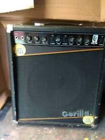 Guitar amp.