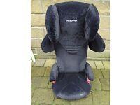 RECARO Start Microfibre Child Car Booster Seat, 3 - 12 years - Red/Cream
