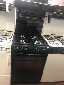 55CM BLACK NEWWORLD EYE LEVEL GAS COOKER