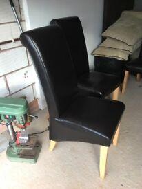 Sleigh chairs - half price!!!