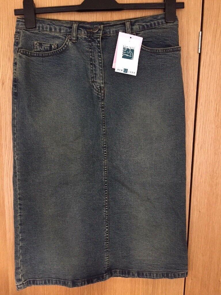 17654798e7 BNWT Denim Skirt from New Look | in Swansea | Gumtree