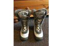 North Face Nuptse Snow Boots - Ladies size 6 (39) immaculate condition