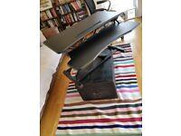 FLEXISPOT Sit Stand Desk Standing Desk Height Adjustable Desk Converter-35 Inch Wide Work Surface