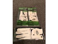 3 x golf glove
