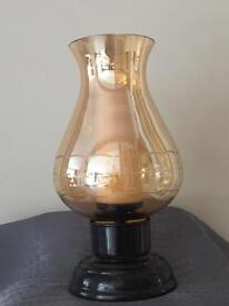 M & S hurricane lamp (candle)