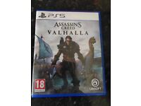 PS5 ASSASSINS CREED VALHALLA PS5 AS NEW
