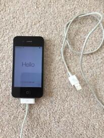 I phone 4. Black