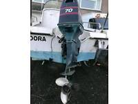 Wilson flyer fishing boat
