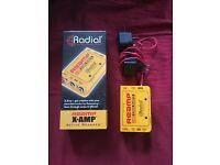 Radial X-Amp active re-amp box