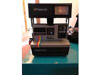 Working Polaroid Instant cameras