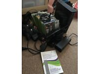 Xbox 360, console, kinnect, controllers & games
