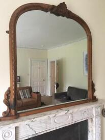 Mirror large - over mantle