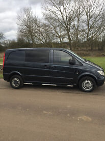 Mercedes vito dual liner 2007 56 plate require work