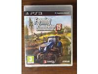 PS3 Farming Simulator 15 game NEW