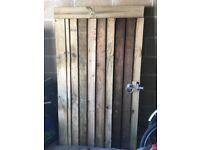 New Handmade Wooden Garden Gate
