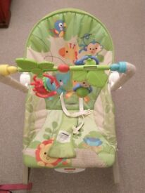 Fisher Price Bouncer (rainforest style)