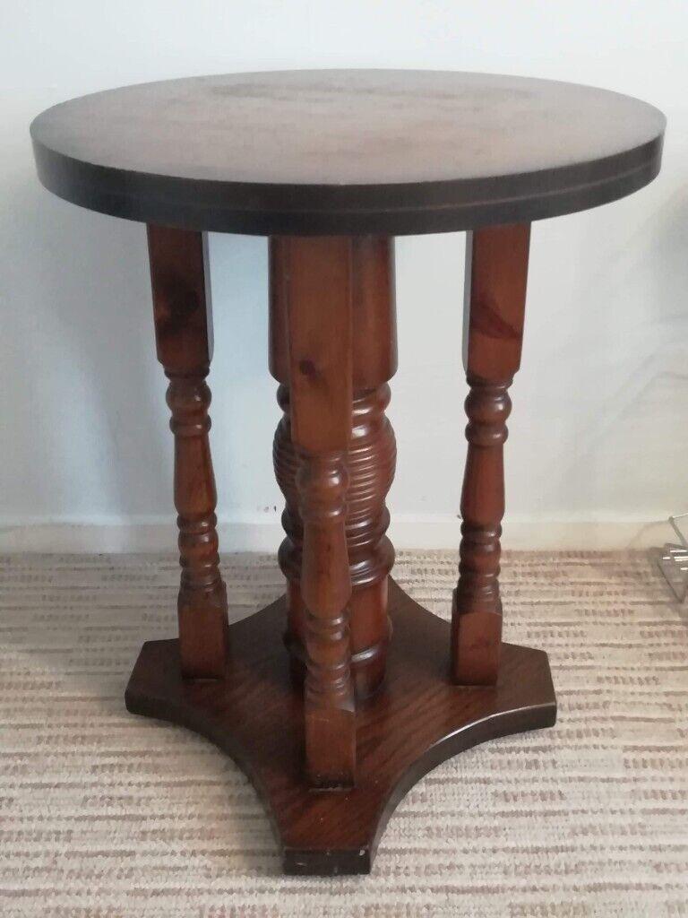 Unusual Antique Oak Round Table In Bramley West Yorkshire Gumtree