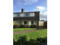 Three bed simi-detached Village location, great School's, Pub and Shop.