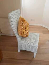 Wicker Dining Chairs x 2 (£15 each)