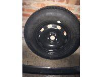 195/65/15 Seat VW Skoda Space Saver