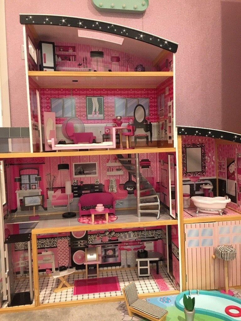 Kidkraft Sparkle Mansion Dolls House