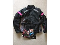 NEW - Ladies Certified Motorcycle Jacket size S (8/10)