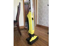 The FC5 hard floor cleaner , vacuum