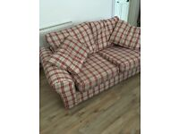 Two seater sofa as new