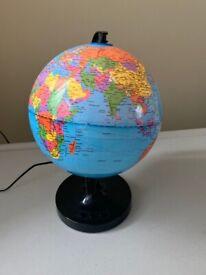 Rotating World Globe