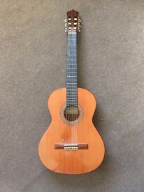 Classical nylon string spanish Perez 640 acoustic guitar