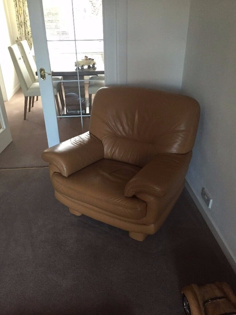 Leather 3 Piece Suite German Quality First Class