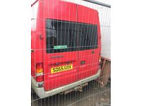 2005 Transit Rear Doors