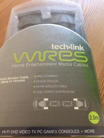Techlink home entertainment media cables