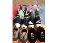 Baby boy shoes 3-6months