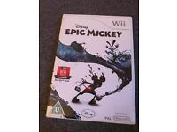 Wii game - epic mickey