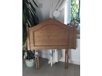 John Lewis single antique pine headboard BARGAIN £19 ONO