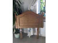 John Lewis single antique pine headboard BARGAIN £15