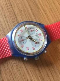 80s Swatch watch