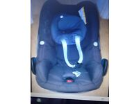 Maxi-Cosi Pebble baby car seat Grp0+ and Grp 1-3 years Full set