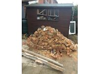 1.5 tonnes of rubble free to collect