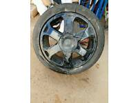 Audi S3 Alloy Wheel Black Genuine 5x100