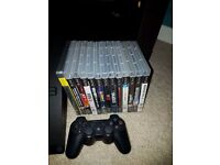 Sony PlayStation PS3 console, controller & games bundle
