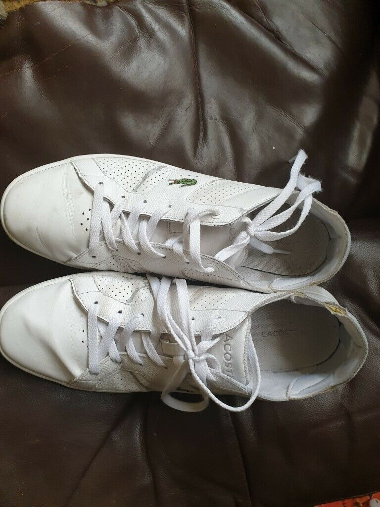 2e06ea655 Lacoste Trainers lightly worn | in Grangetown, Cardiff | Gumtree