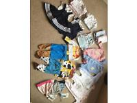Coordinating twin girl/boy bundle