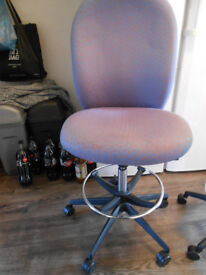 verco draughtsman office chair with lumber surport